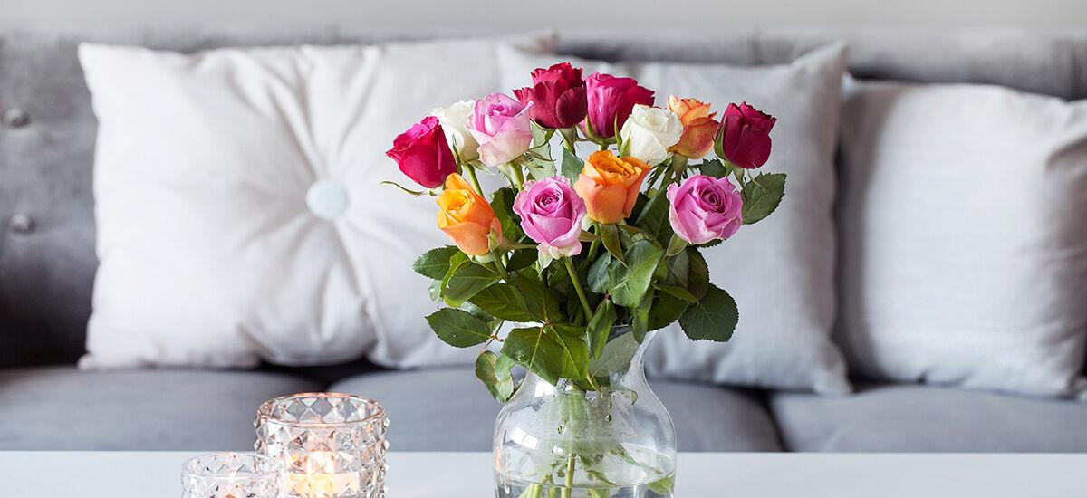 roser fast lavpris