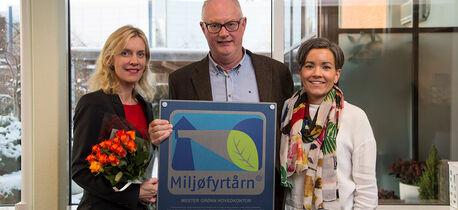 Mester Grønn er nå Miljøfyrtårn-sertifisert