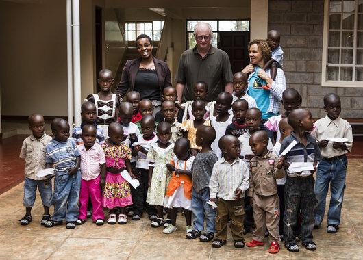 Besøk på Kipchamgaa Children's Home