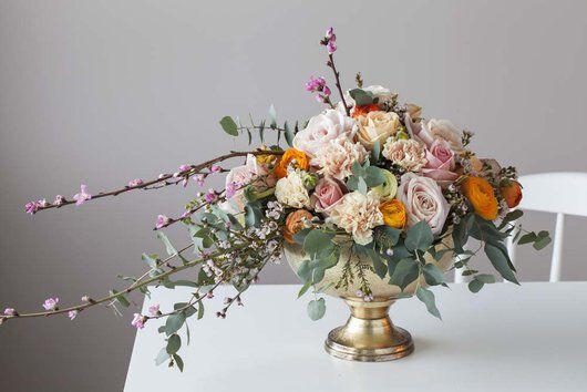 Blomster i vårlige fargenyanser