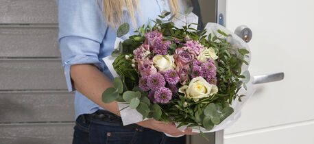sende blomster hjemlevering
