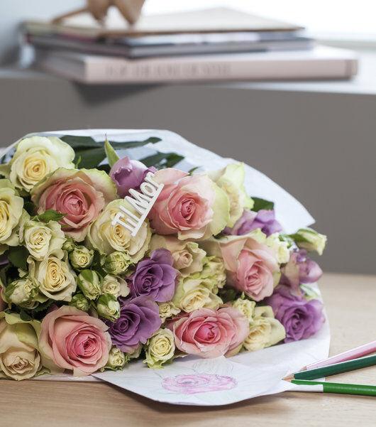 mamma blir garantert glad for en vakker rosebukett
