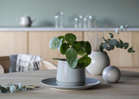 Eternity blomsterpotte er fin å kombinere med vaser i Florum serien