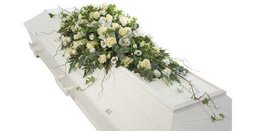 Kistedekorasjon begravelse