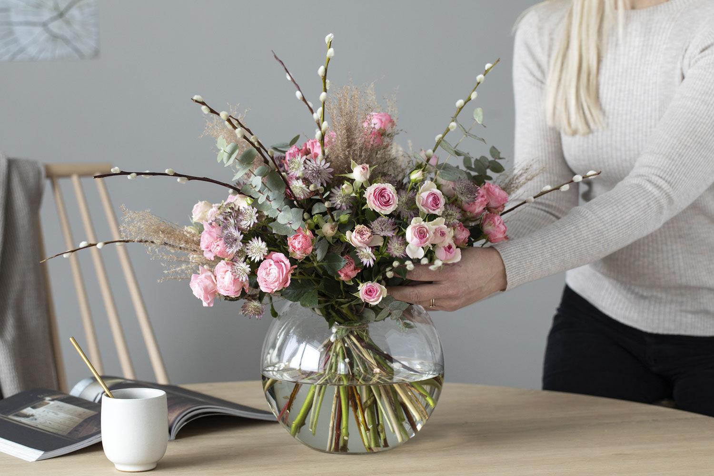 Blomsterbukett til 3 for 2