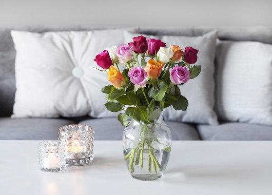 Fast lavpris roser