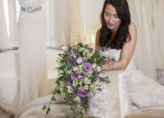 bohemsk inspirert brudebukett er trendy igjen