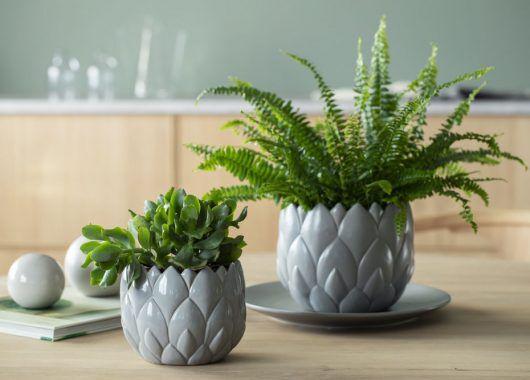 Botanica keramikkpotter kommer i to størrelser.