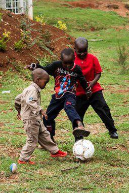 Fotball på Kipchamgaa Children´s Home