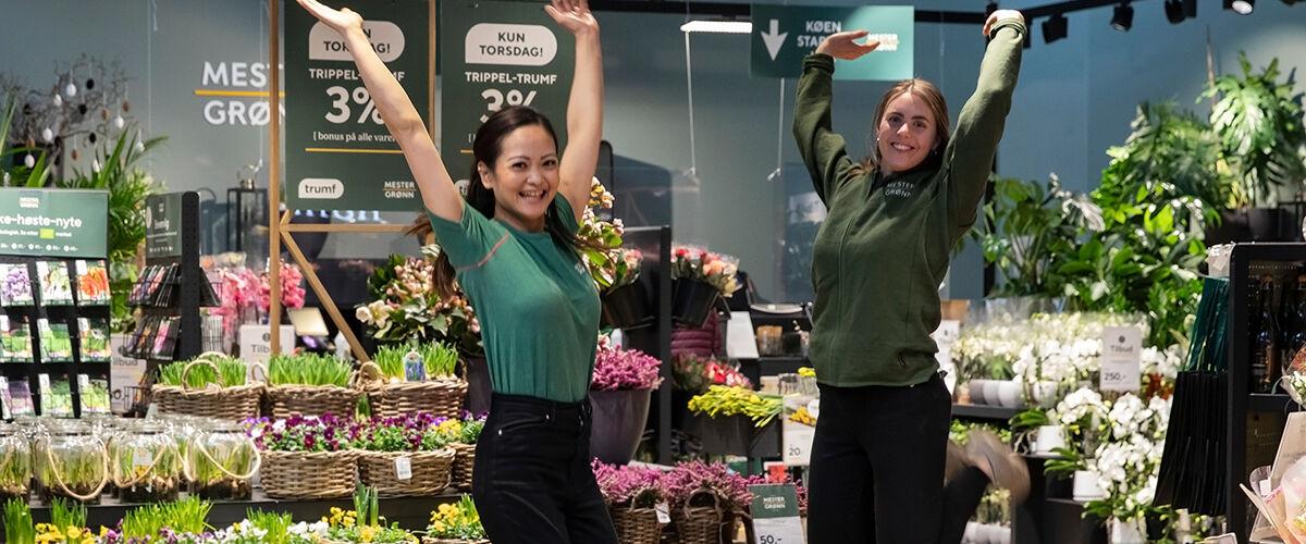 Blomsterbutikk Mester Grønn