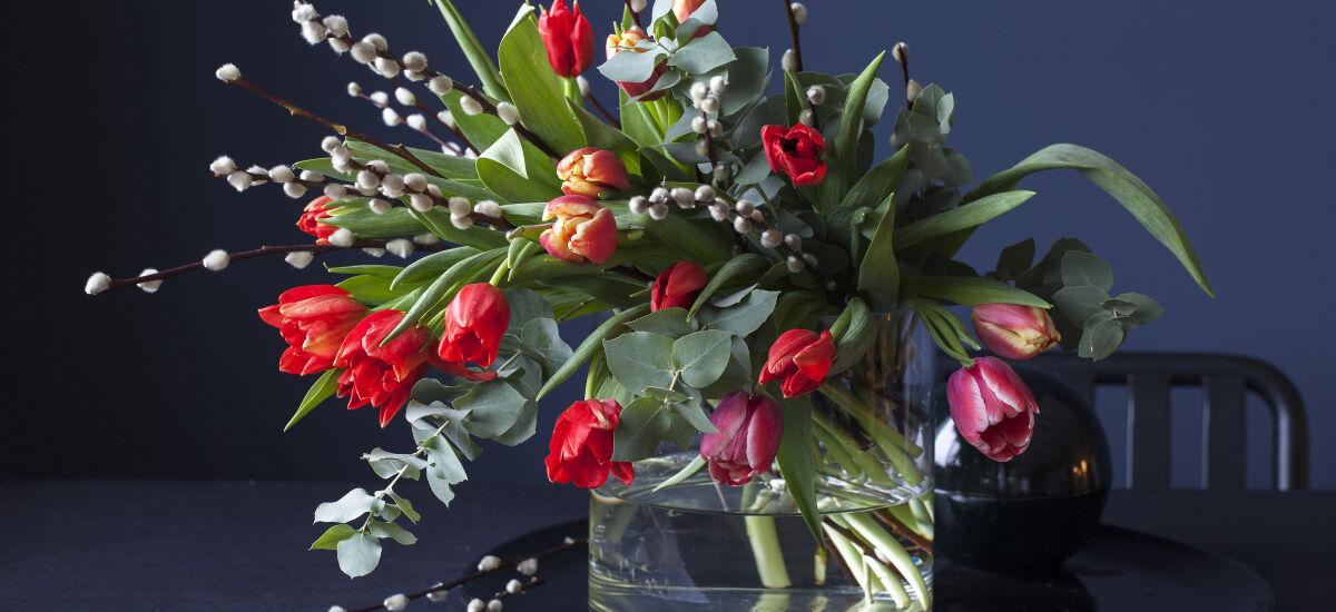trendy tulipan bukett