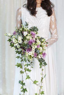 trendy brudebukett