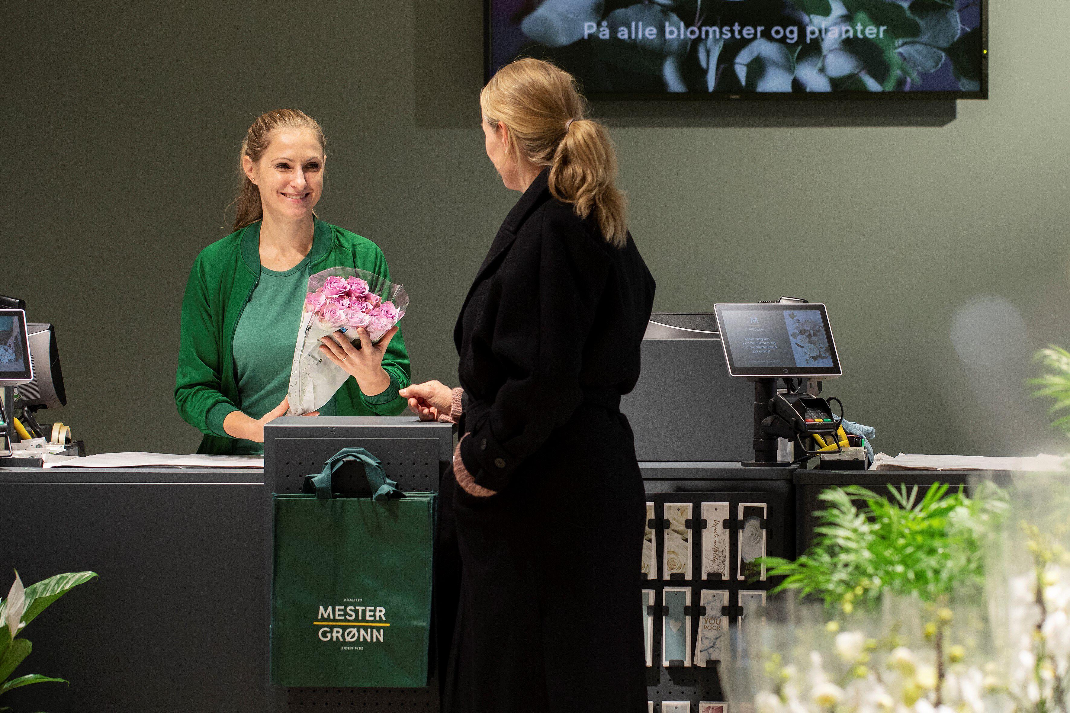 Mester Grønn butikk