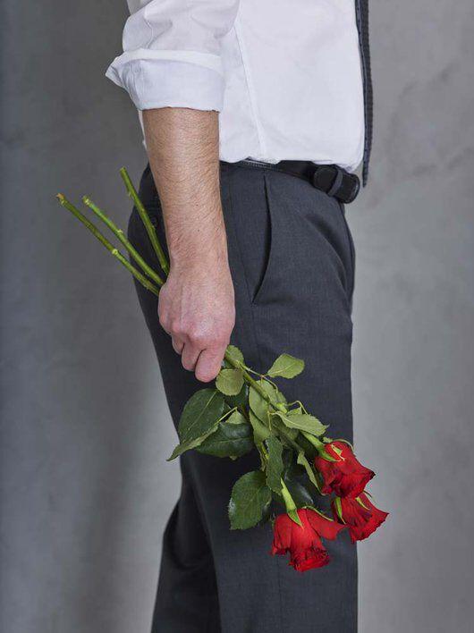 3 røde roser betyr 'Jeg elsker deg'