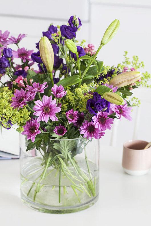 bukett med 3 for 2 blomster