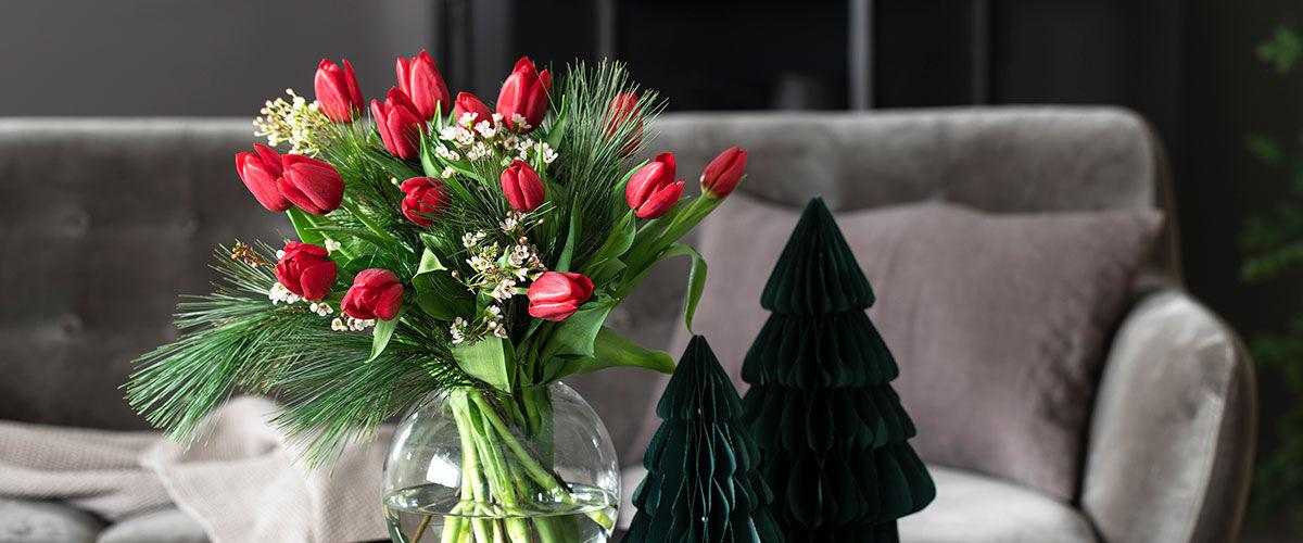 Sende blomster