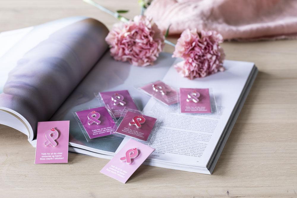Rosa sloyfe pin