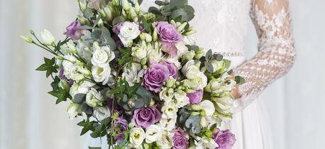 Blomster bryllup brudebukett