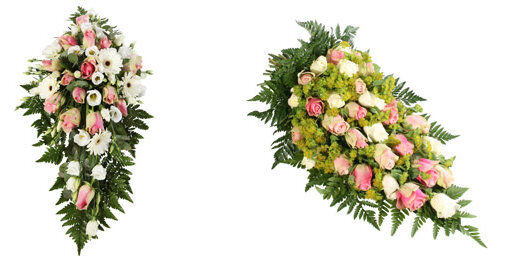 Båredekorasjoner begravelse