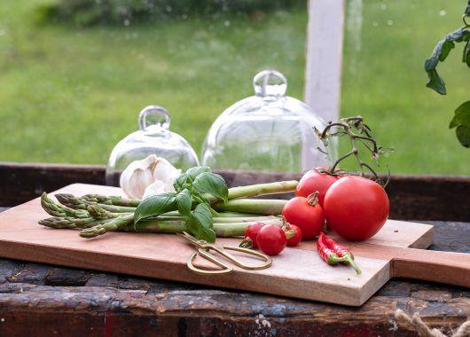dyrke tomater og grønnsaker