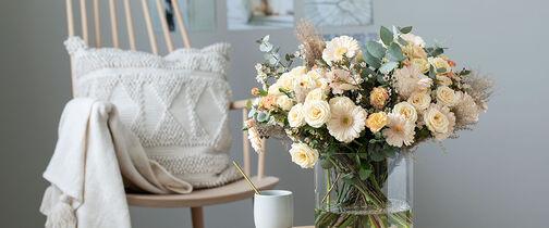 Blomsterbukett