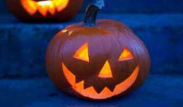 Halloween høstbord