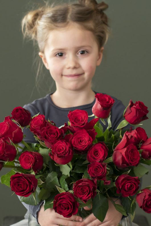 Blomster er alltid en populær gave til mamma