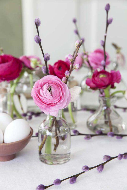 små Dalebekken vaser egner seg godt når du skal pynte bordet med blomster