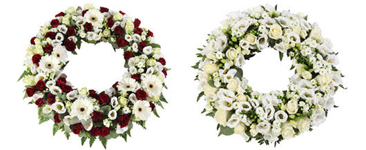 Kranser begravelse