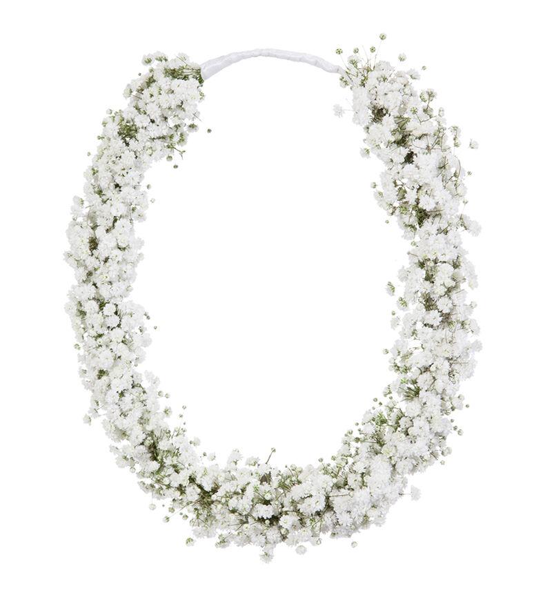 Blomsterring til brudepike med brudeslør image number null