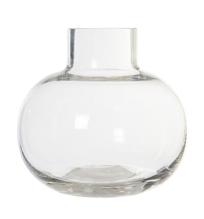 Glassvase Bubble rund S