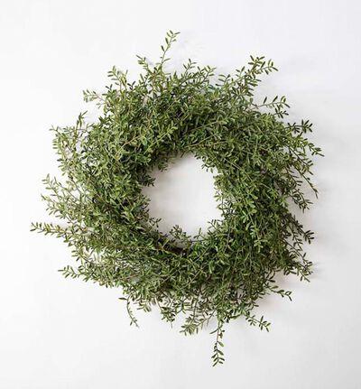 Kunstig Oliven krans