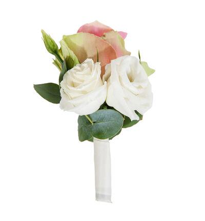 Knapphullsblomst i romantisk stil