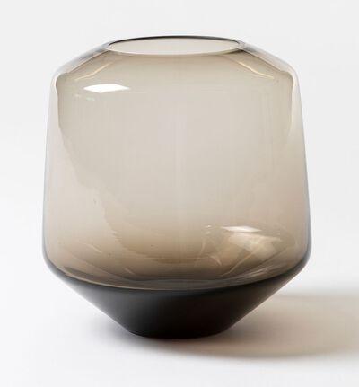 Glassvase Misty rund