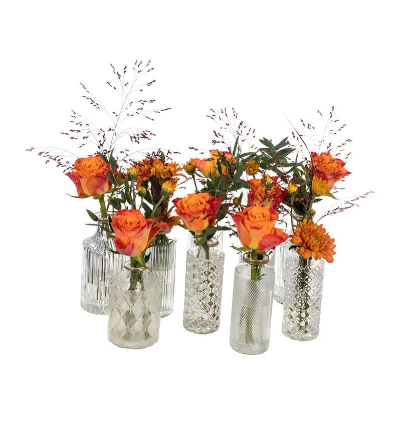 Gyllen festpakke med små vaser image number null