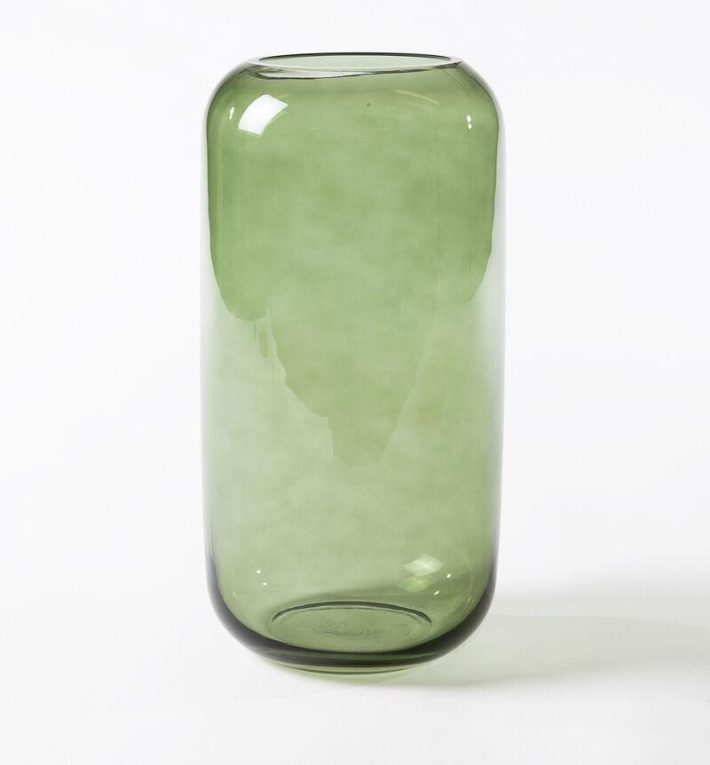 Glassvase Leaf grønn L image number null