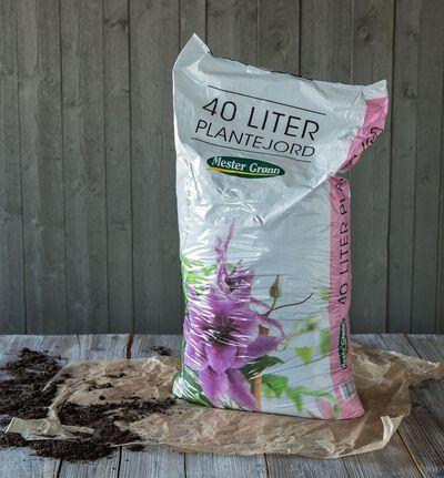 Blomsterjord 40l