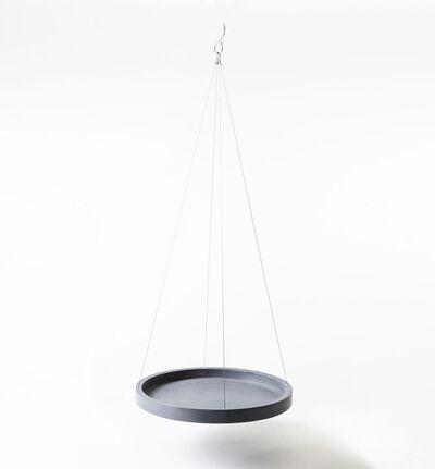 Ecopot Hengende ampelplate grå