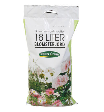 Blomsterjord 18l