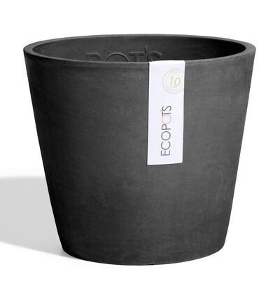 Ecopot konisk Amsterdam sort L