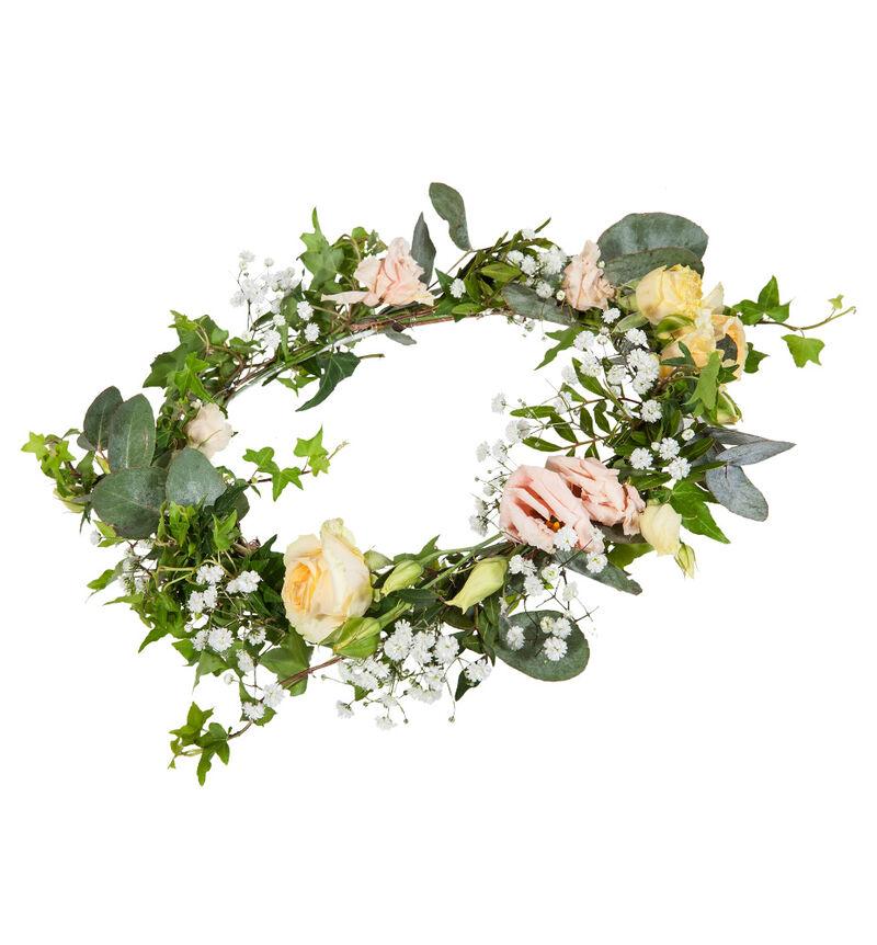 Bohemsk blomsterkrans i duse farger image number null
