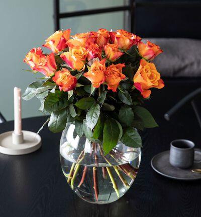 15 gylne roser