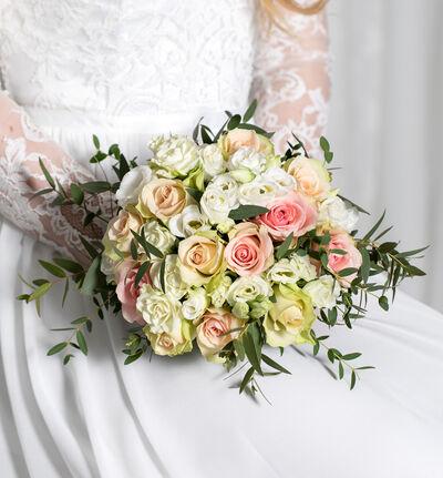 Stor Simplicity bryllupspakke i rosa