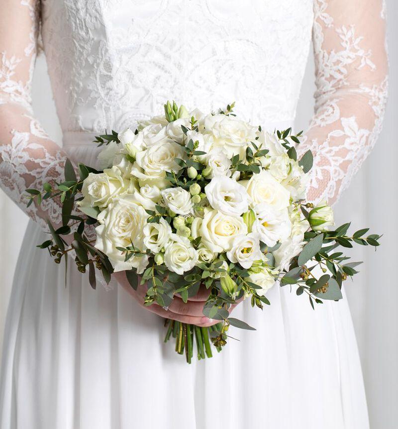 Medium Simplicity bryllupspakke i hvitt image number null