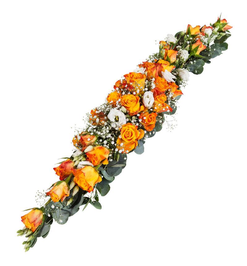 Oransje borddekorasjon L image number null
