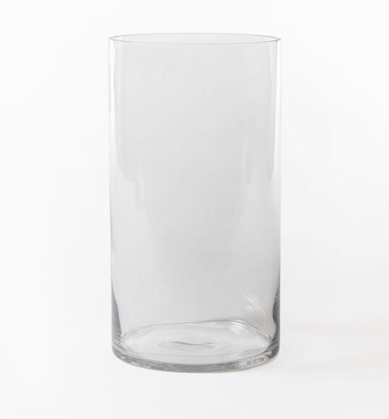Glassvase sylinder klar image number null