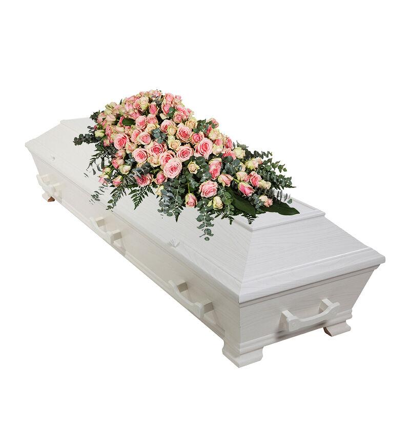 Kistedekorasjon i rosa L image number null