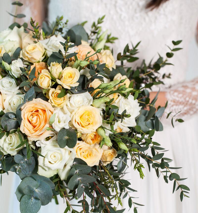 Liten Romantisk bryllupspakke i fersken image number null