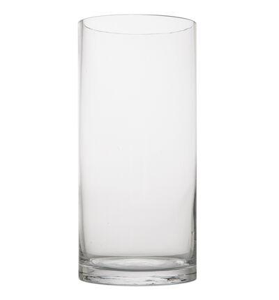 Glassvase sylinderformet