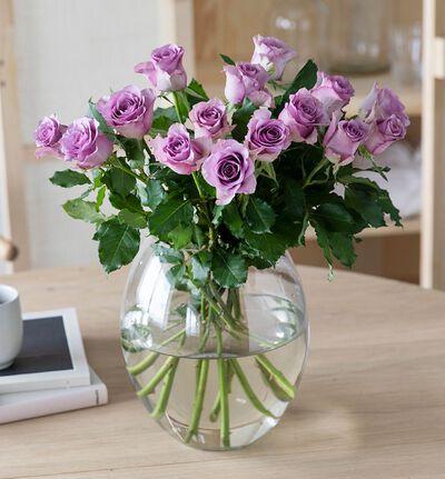 15 lilla roser